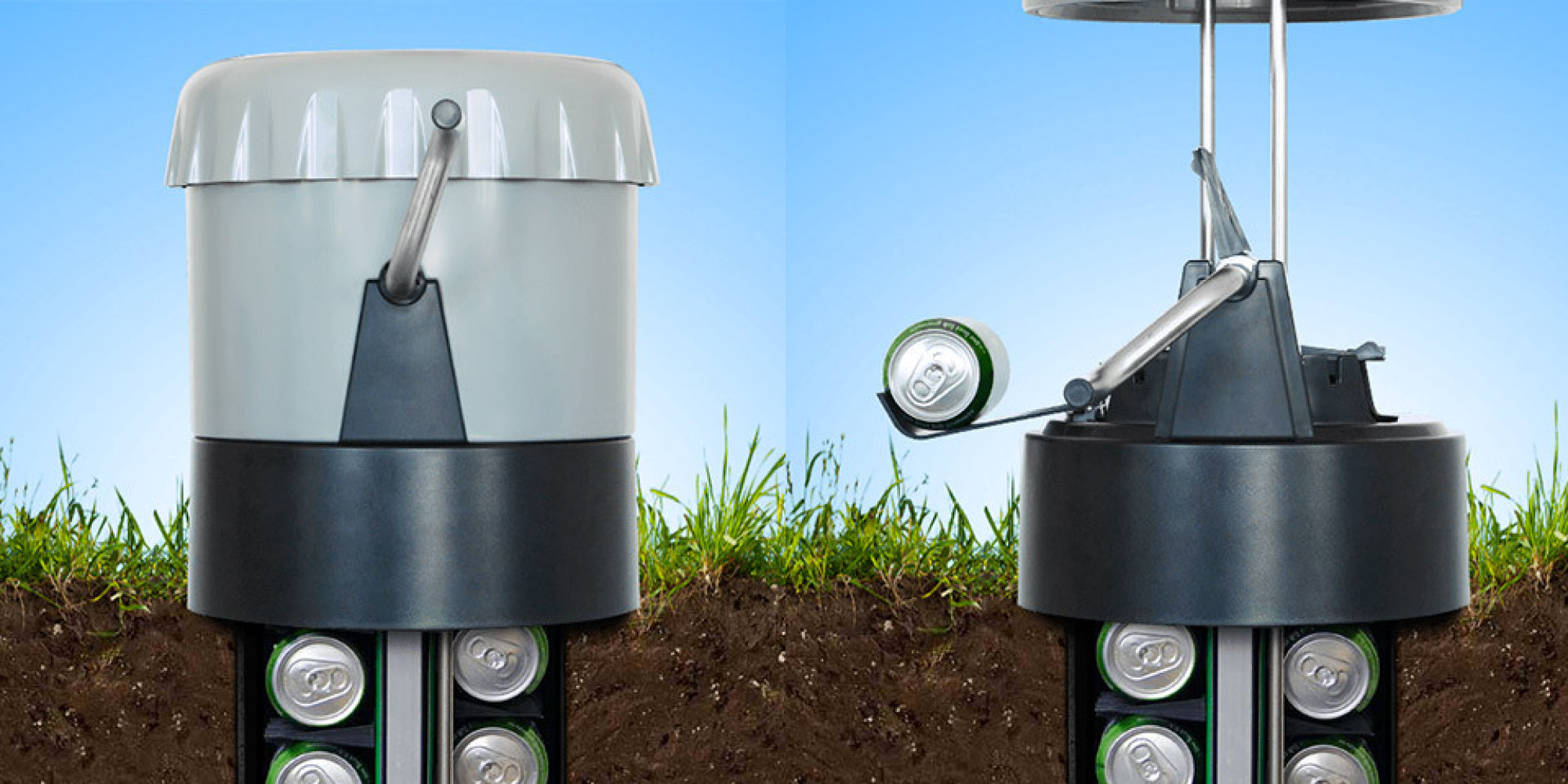 The Earth Cooler Keep Your Drinks Cold Without Using Electricity