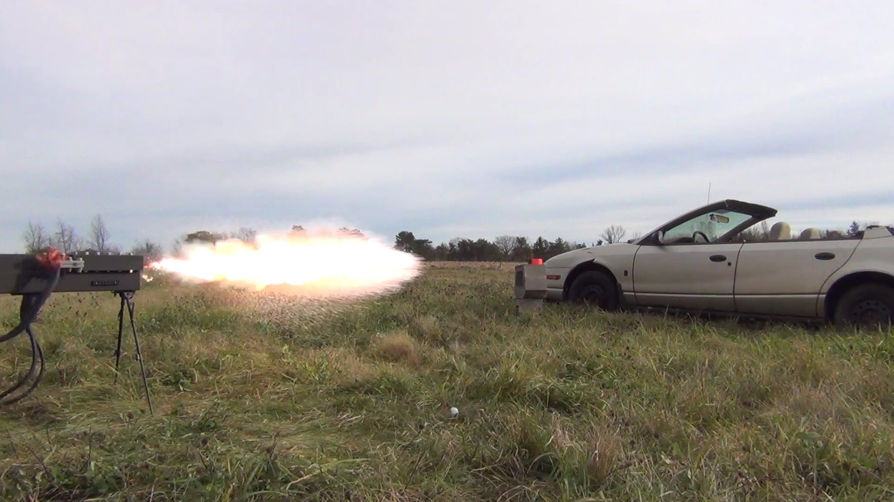 These Guys Built an Amazing Weapon - 250-Pound, 27,000 Joule Electric Railgun