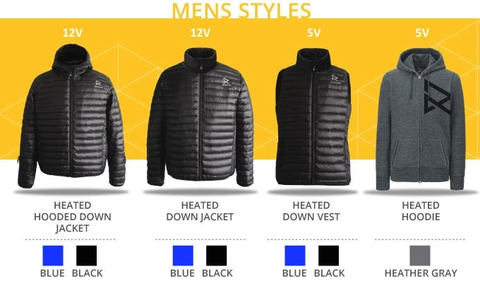The World's First Heated Down Jacket