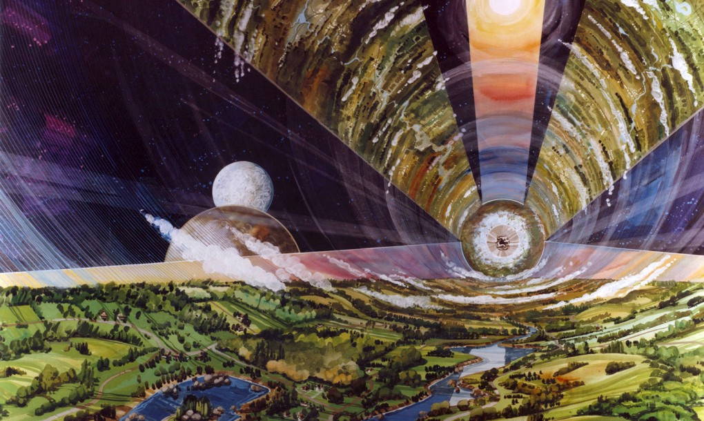One Day, Human Civilization May Live in Floating Space Colonies, and the O'Neill Cylinder Shows How