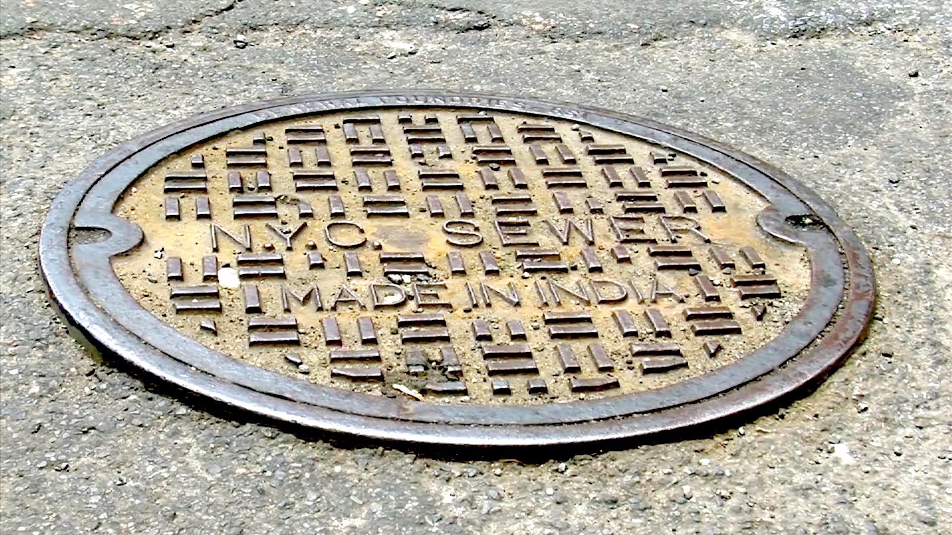 See Where NYC's Manhole Covers Come From