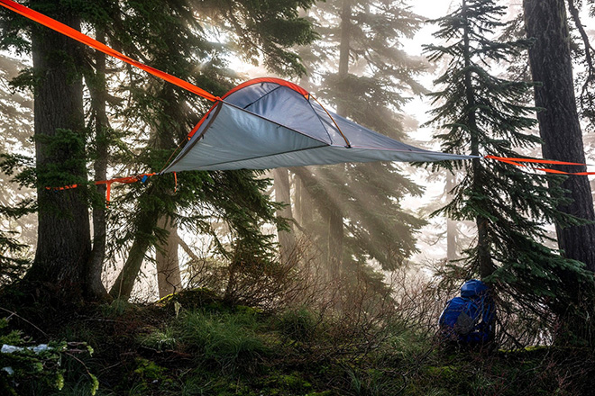 The Tentsile Flite Tent Lets You Sleep Above Ground While Suspended in Mid-Air