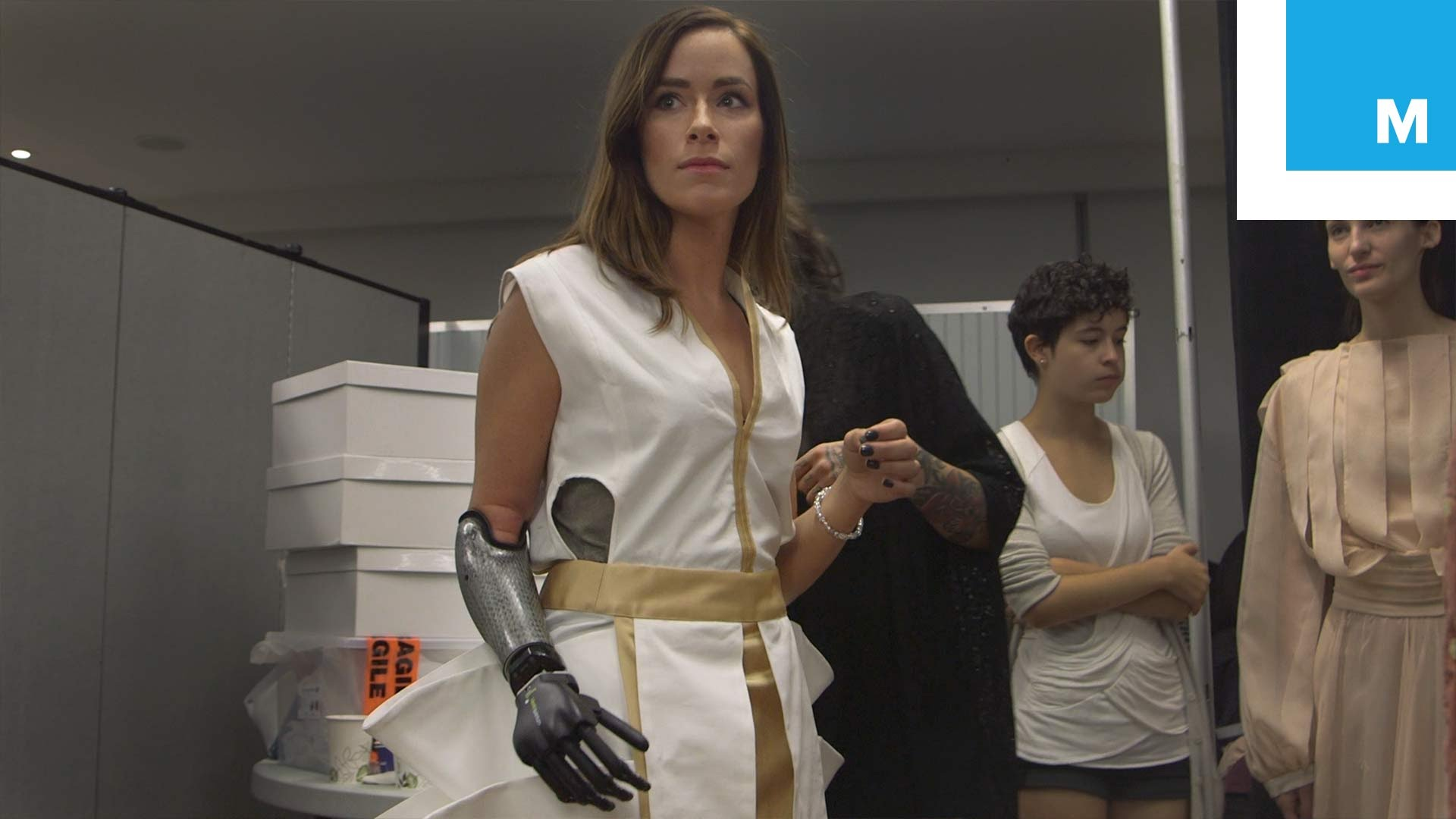 The Runway Model with Advanced Prosthetic Limb