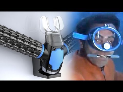 Triton Scuba Mask - Extracting Oxygen from Water Like Fish