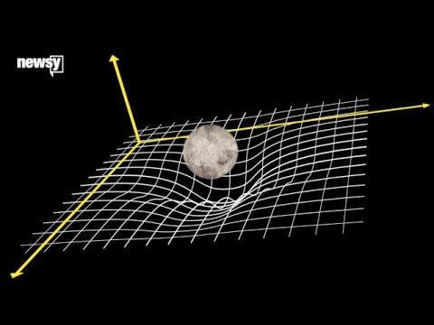 What Did Einstein Mean By 'Curved' Spacetime?