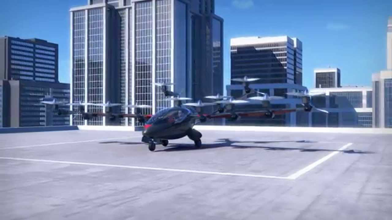 Personal Electric Plane with Vertical Takeoff Capabilities