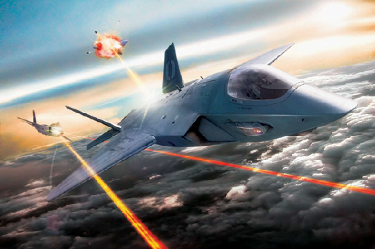 By 2020, the US Air Force May Have Fighter Jets with Real-Life Star Wars Laser Weapons