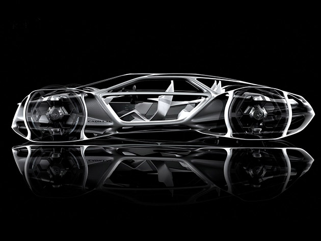 Cadillac Aera is Not Just a Supercar, It's Powered by Air and Weighs Just 1,000-Pounds