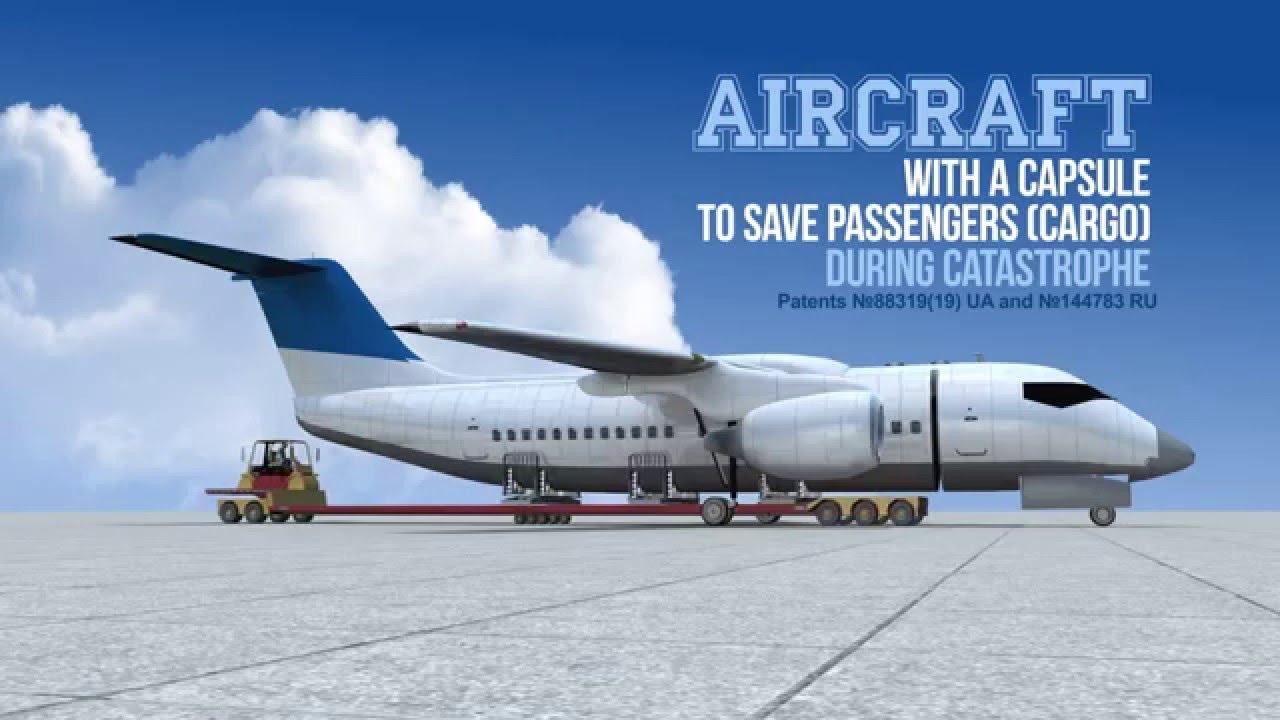 New Airplane Design Detachable