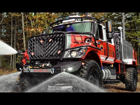 Bulldog 4x4 - Extreme Fire Truck Holds 2,000 Gallons of Water
