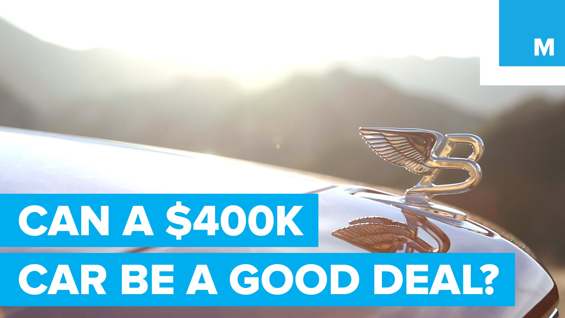 Can a $400K Bentley Actually Be a Good Deal?
