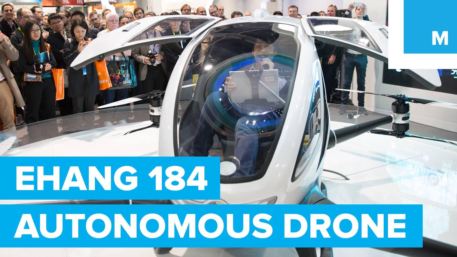 Ehang 184 Autonomous Manned Vehicle Drone
