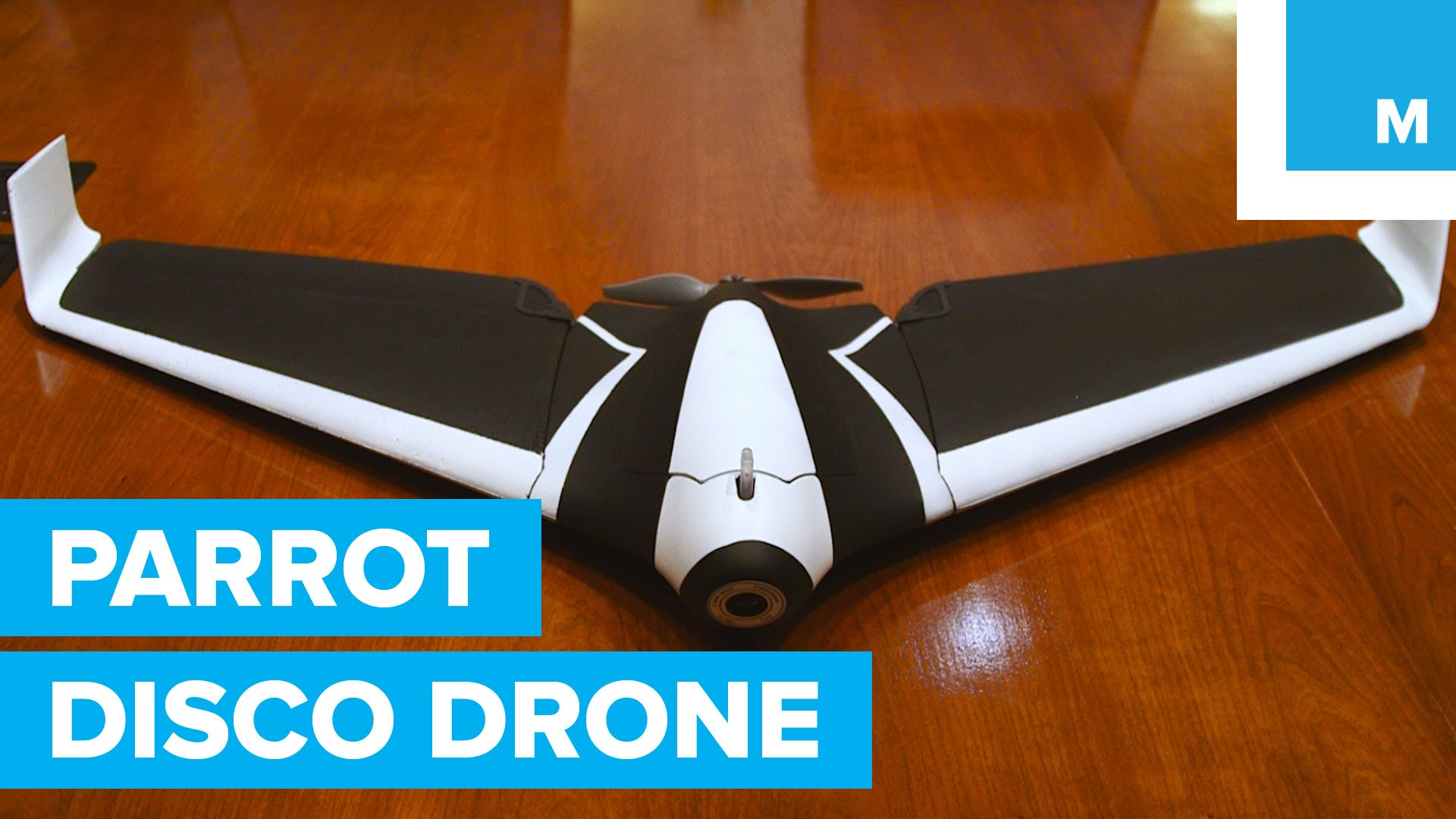 Parrot Disco Drone at CES 2016 is a Massive Wing Drone