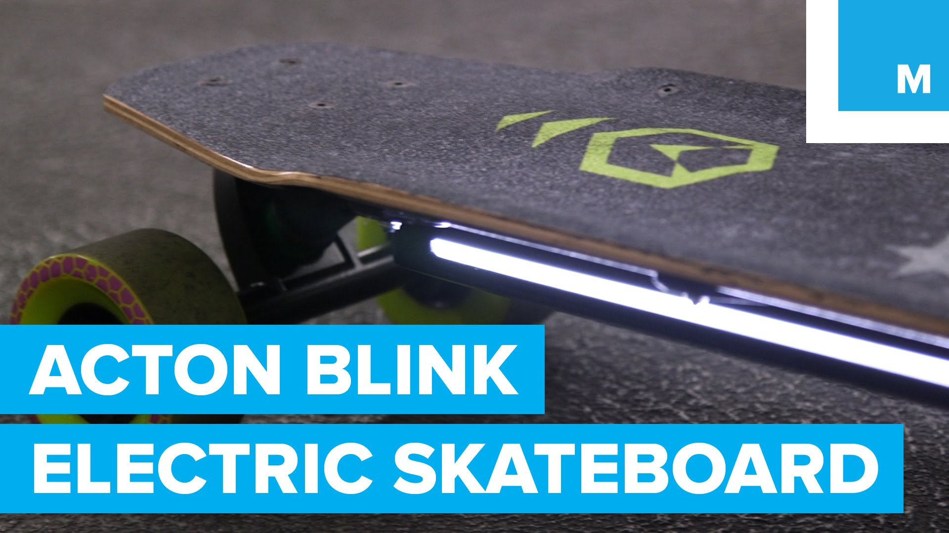 Small & Fast Acton Blink-Board Electric Skateboard is Great to Ride