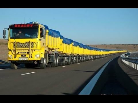 The Longest Trucks in the world are found in the Australian Outback