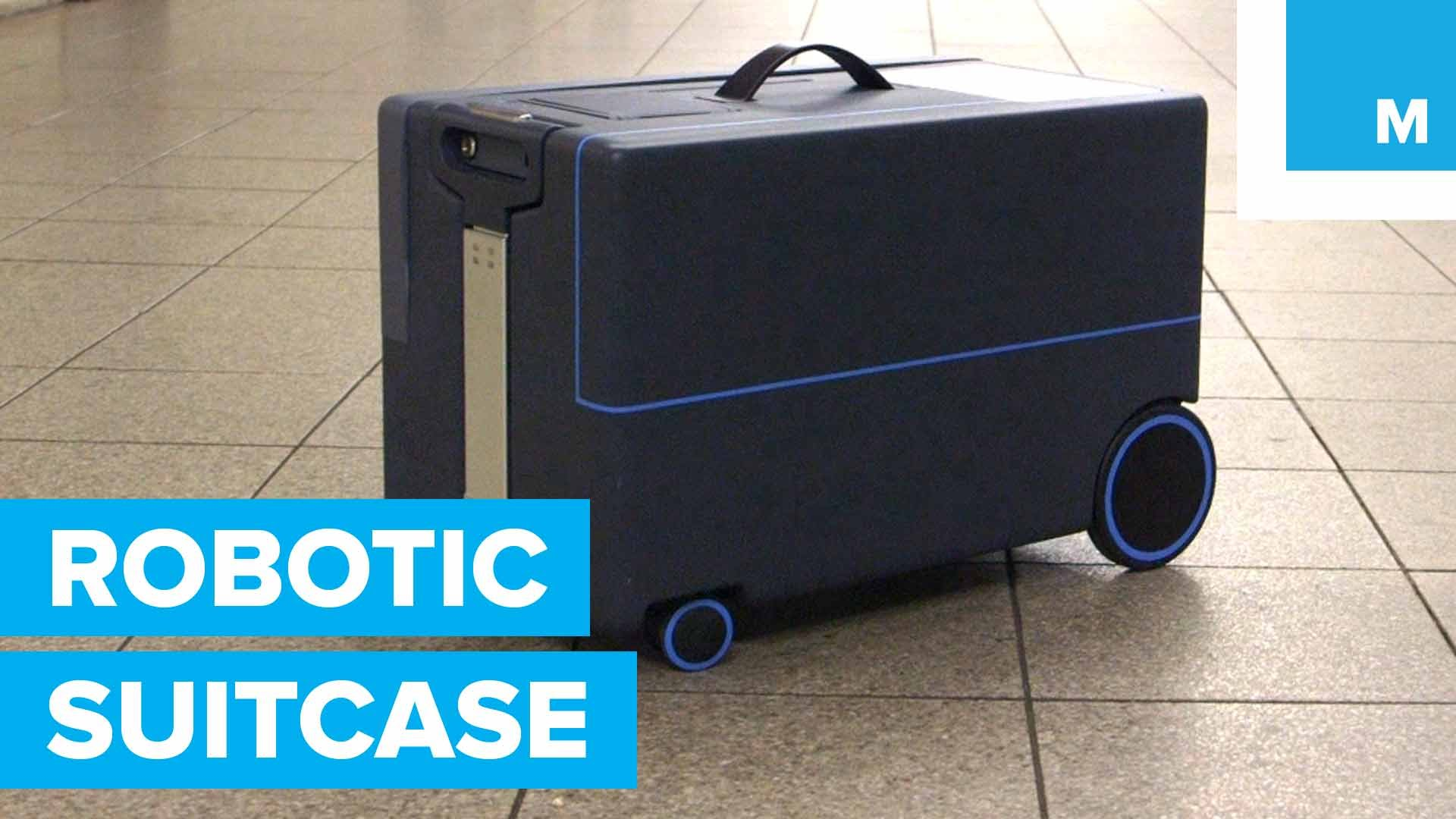 This Robotic Suitcase Follows its Owner Around