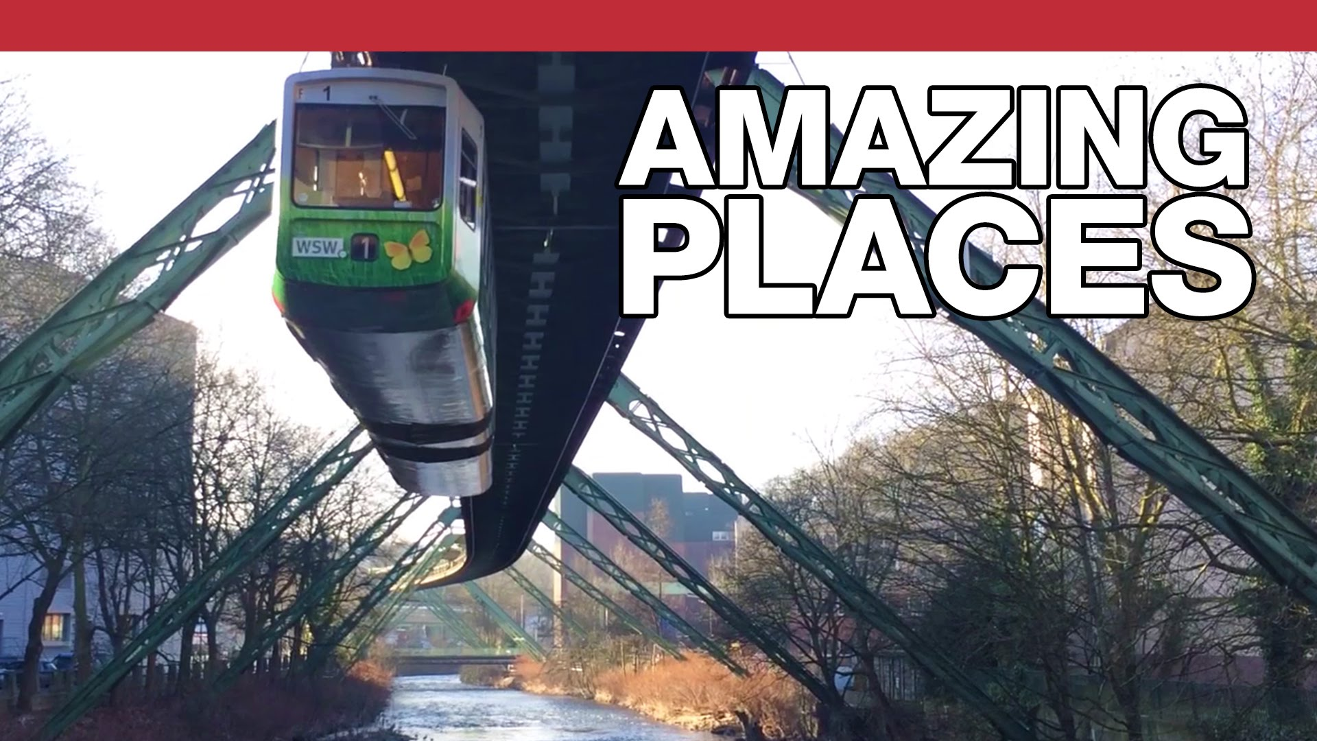 Why Wuppertal's Suspended Monorail Wasn't The Future Of Travel