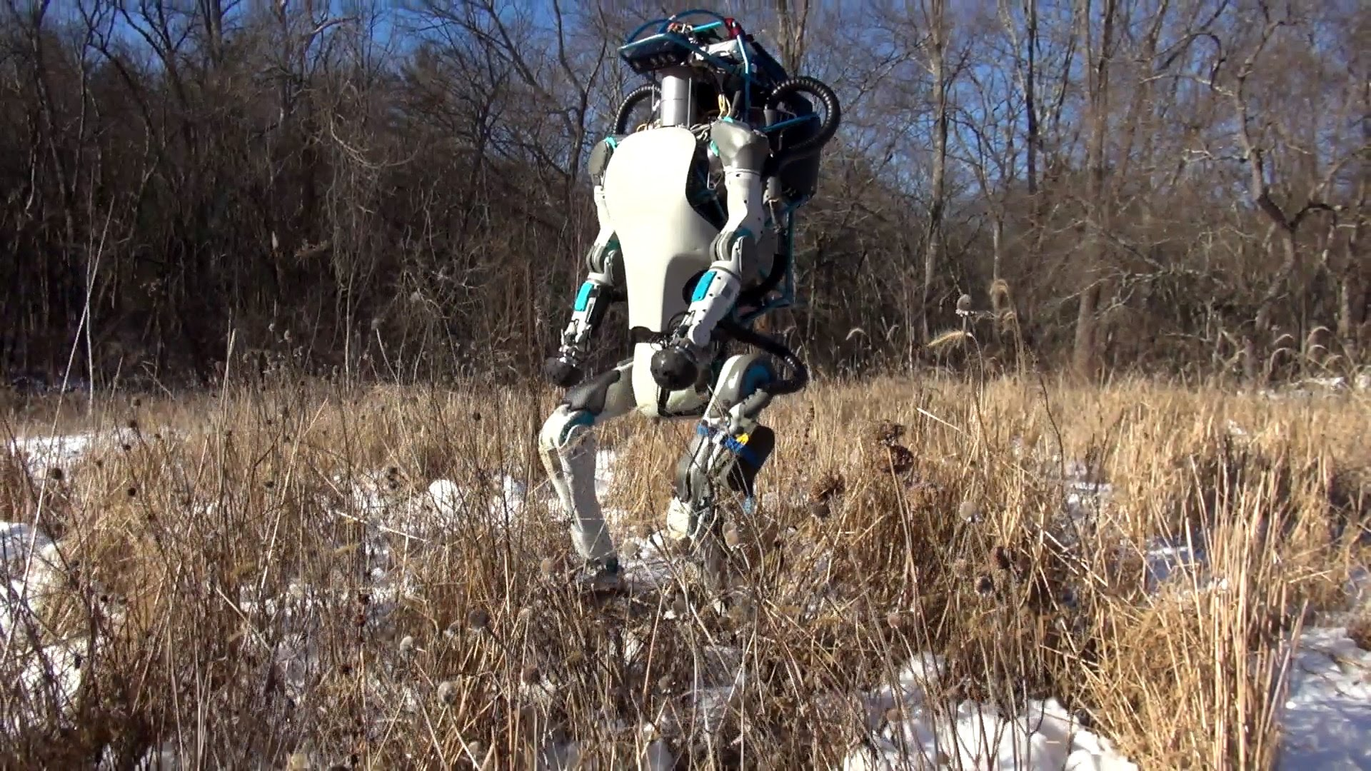 Boston Dynamics At It Again - Atlas, The Next Generation