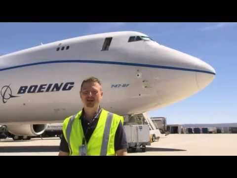 How a Million Pound 747-8 Tests It's Brakes