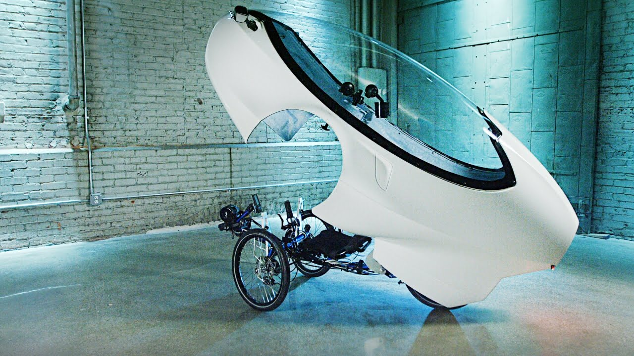 Human-Electric Hybrid Tricycle