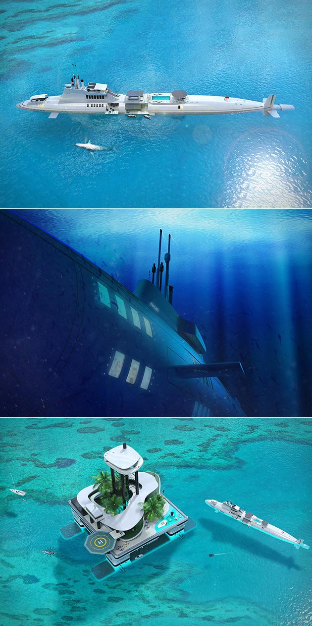submarine-yacht