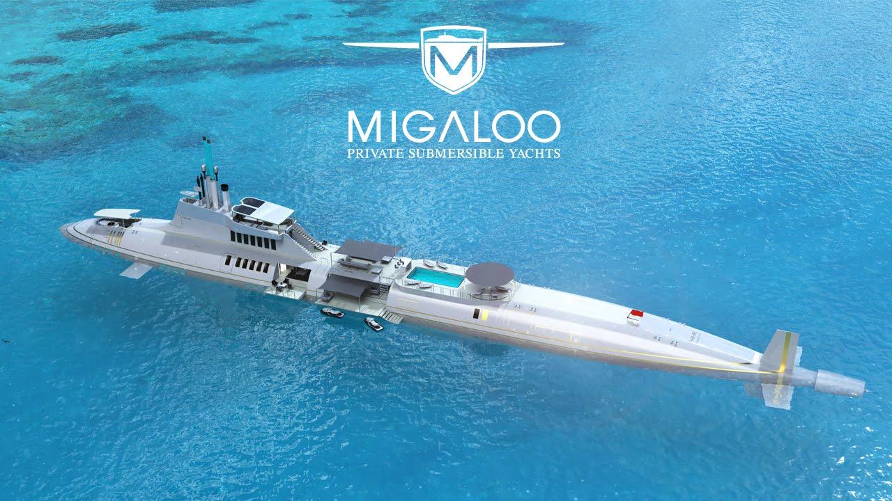 Yacht + Submarine=Migaloo
