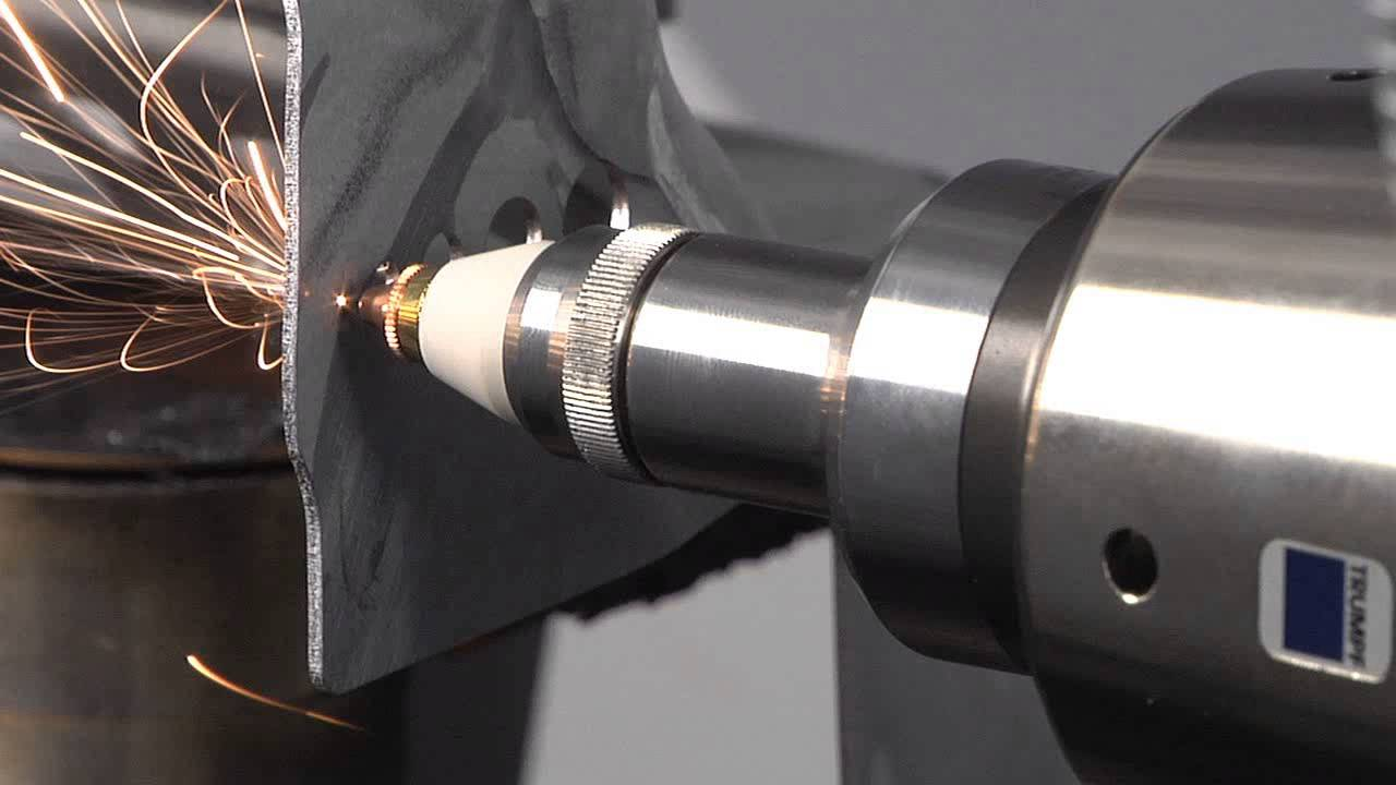 5-Axis Metal Laser Cutter Is Satisfying to Watch