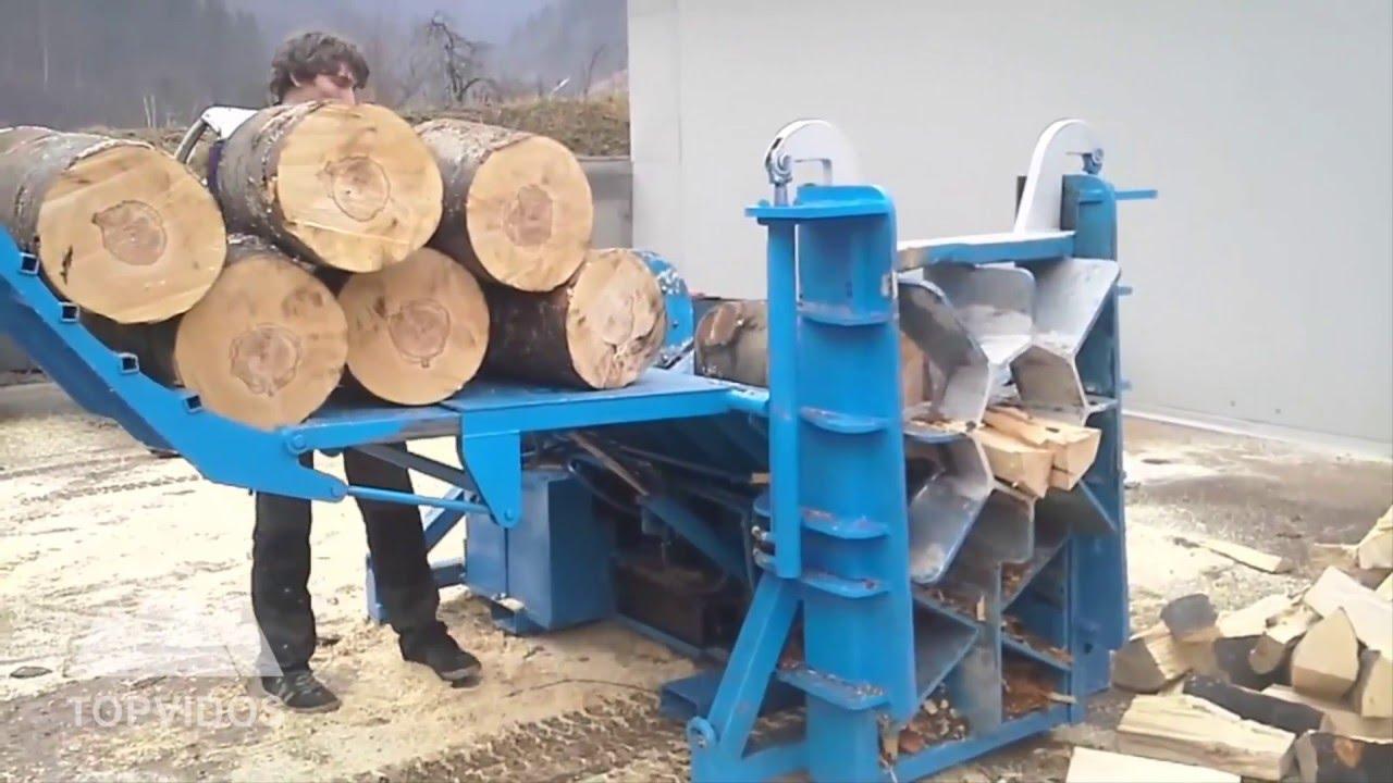 Homemade Log Splitters