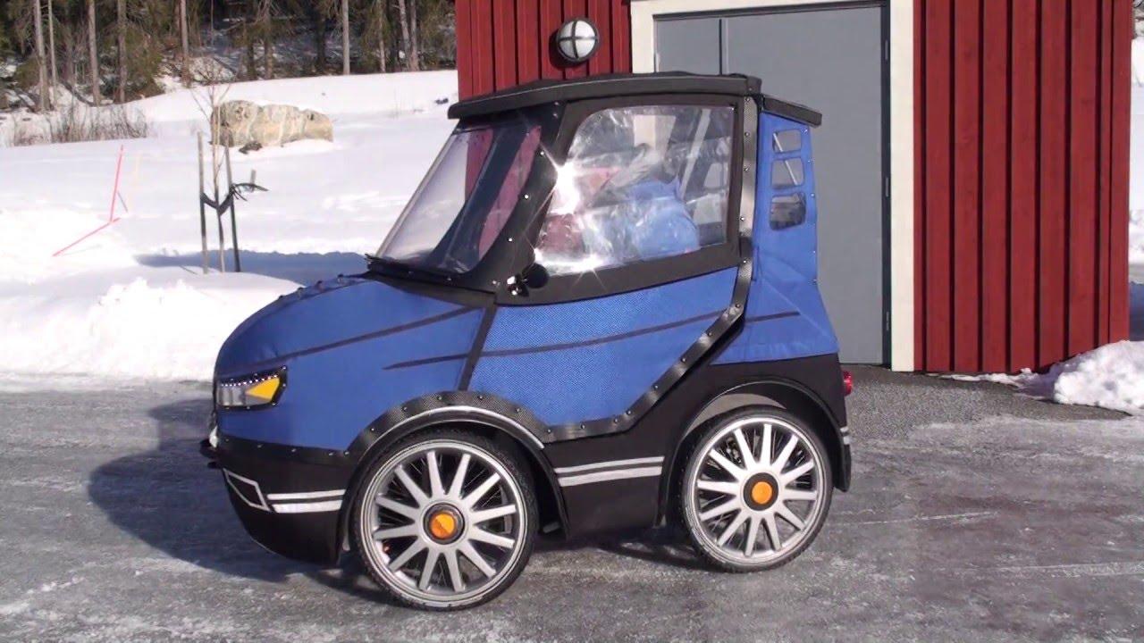 PodRide - a Bicycle Car