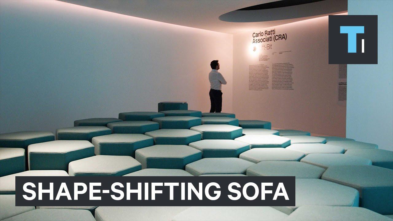 Shape-shifting sofa