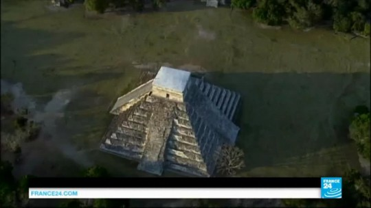 15-Year-Old Student Discovers Lost Mayan City on Google Maps