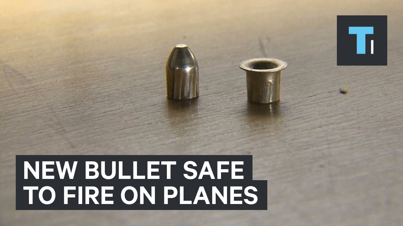 New bullet safe to fire on planes