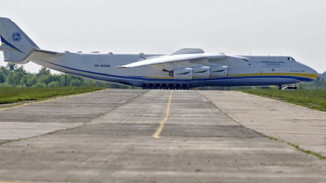 The Largest Plane in the World Visited in Australia