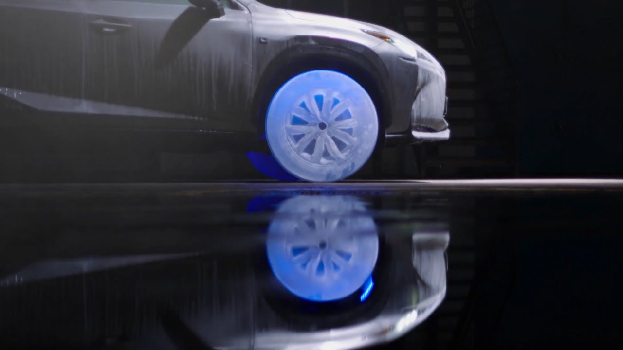 Car Wheels Made of Ice