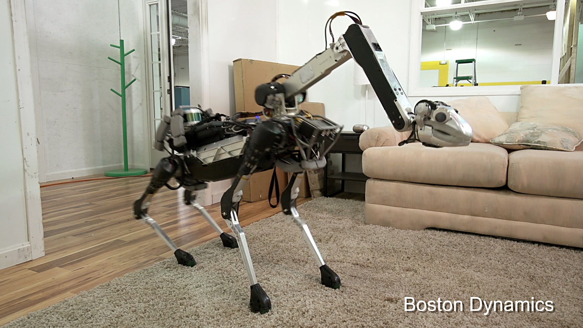 Introducing SpotMini - The New Robot from Boston Dynamics