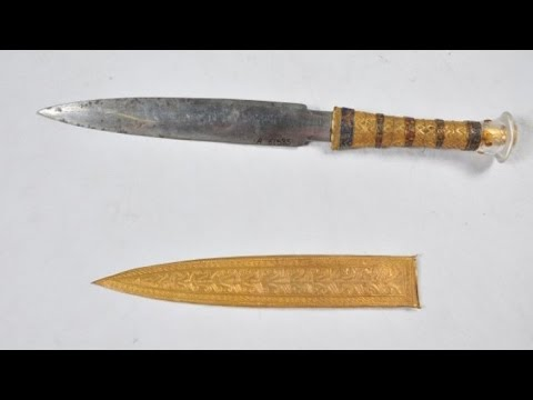King Tut's Dagger Is Actually from Outer Space