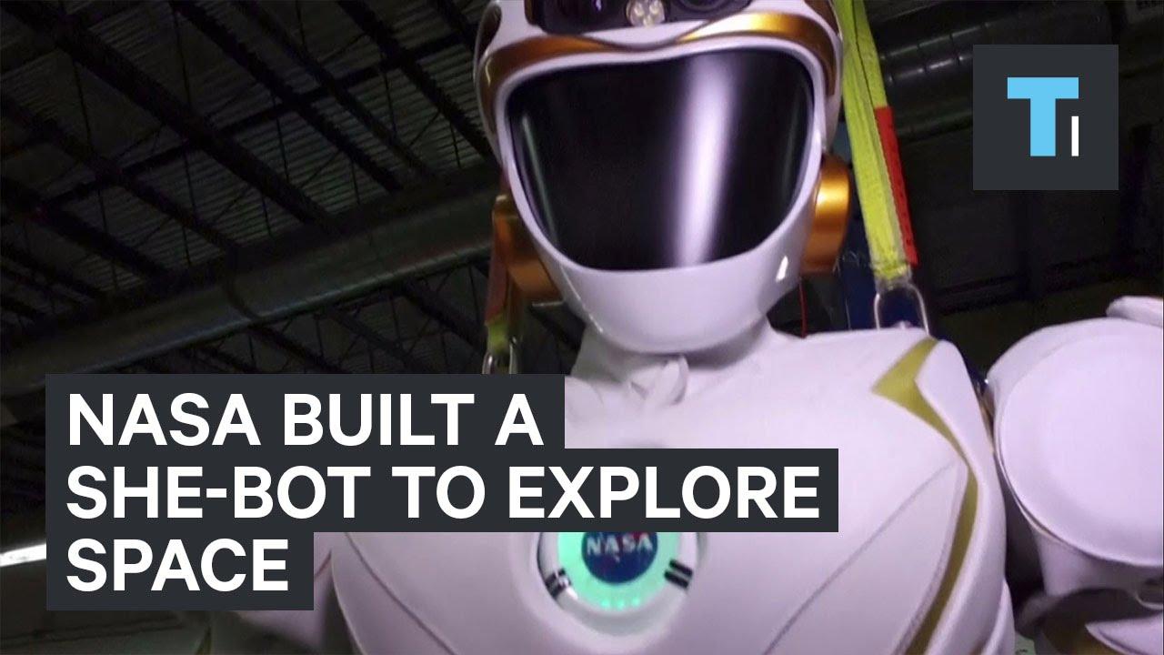 NASA built a she-bot to explore space