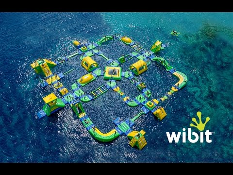 Wibit - Inflatable Water Park Looks Like So Much Fun