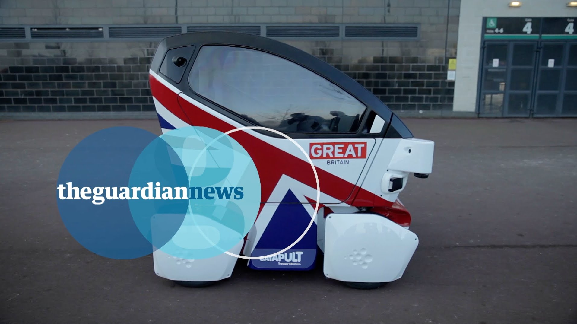 Driverless cars hit the roads in UK cities