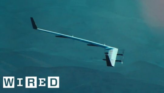 Facebook's Huge Internet-Beaming Drone Takes Flight