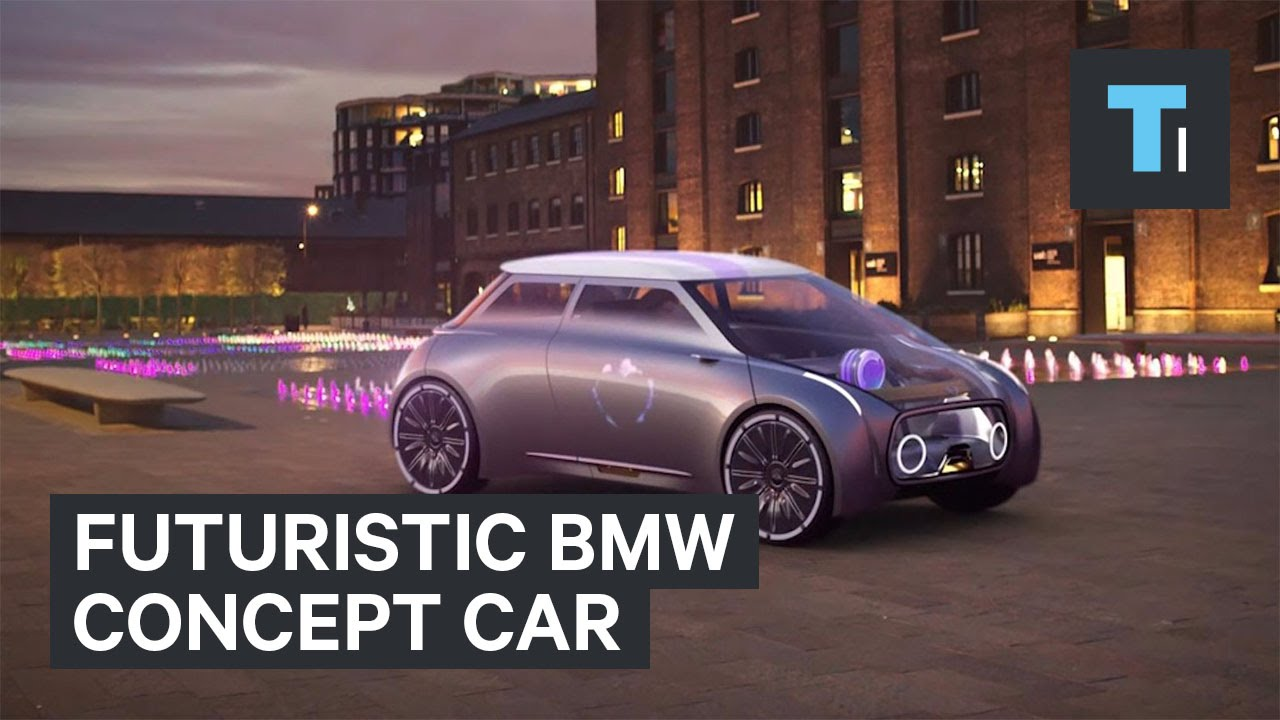 Futuristic BMW concept car