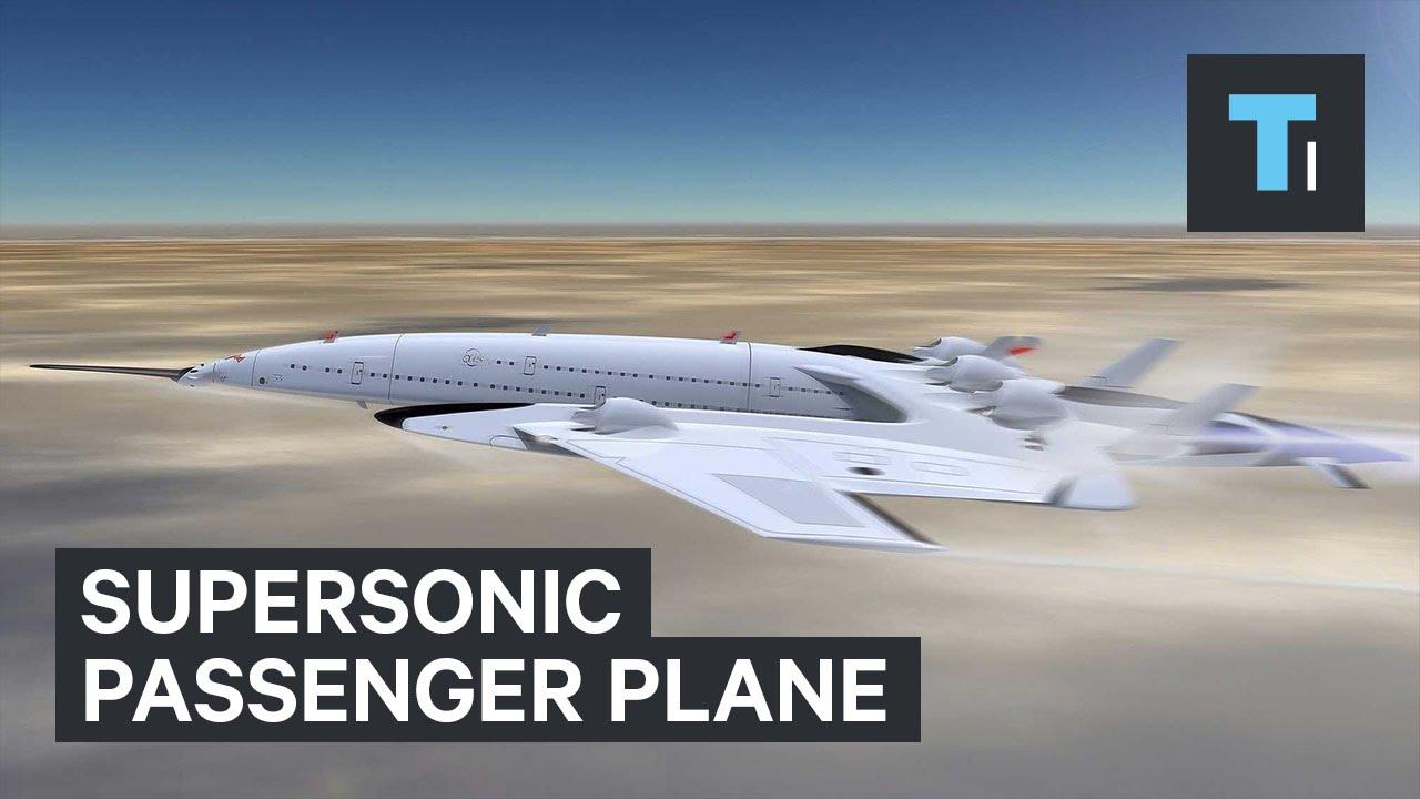 Supersonic passenger plane