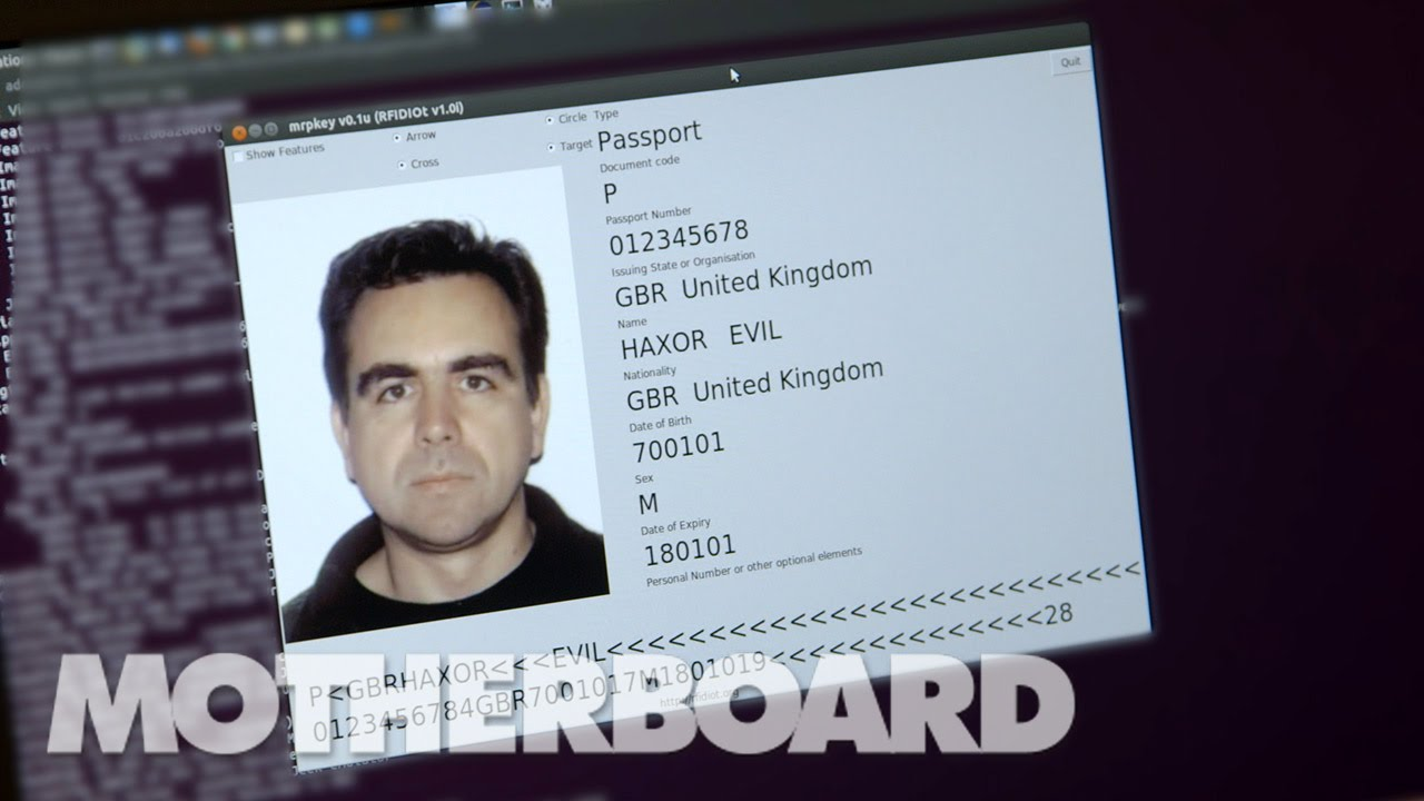 Hacking Passports and Credit Cards with Major Malfunction