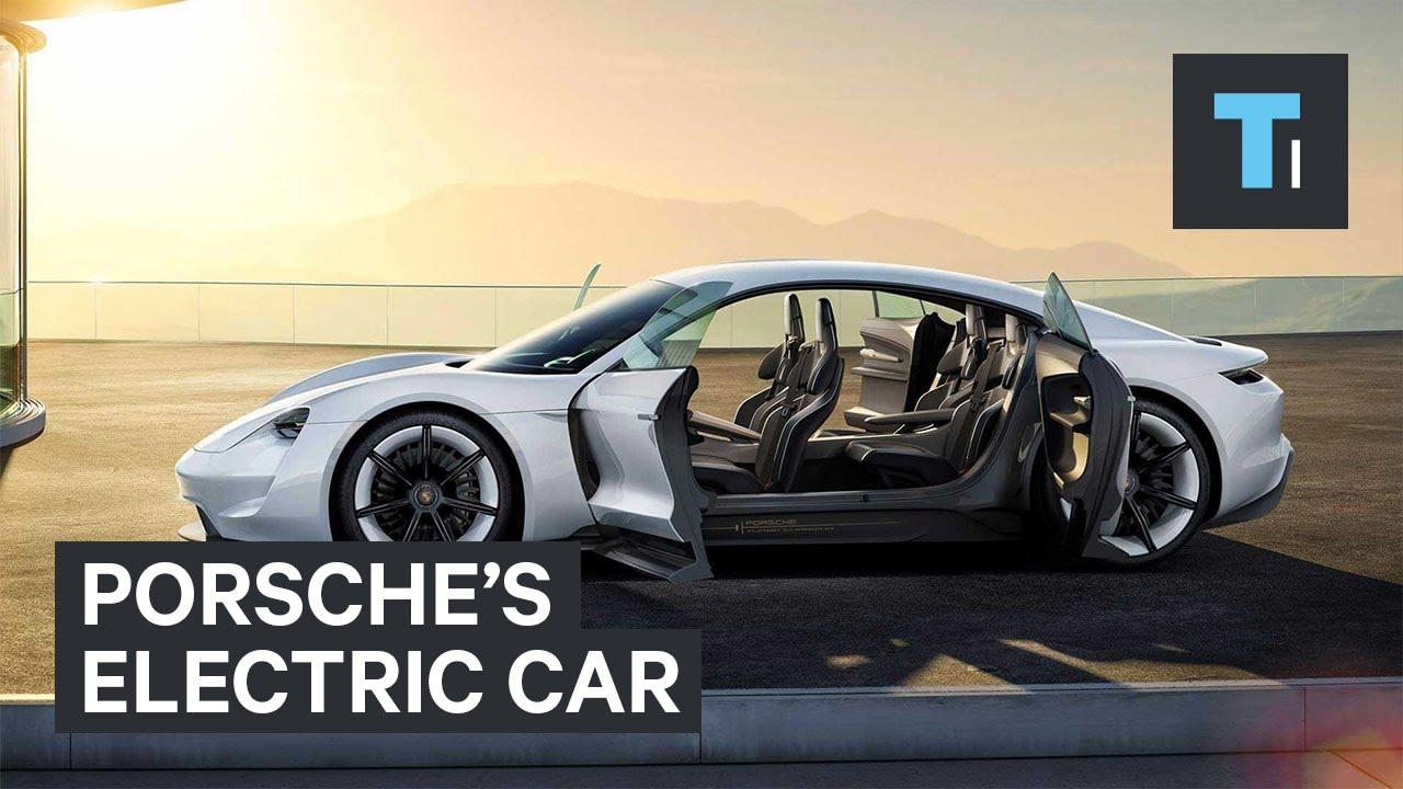 Porsche's electric car