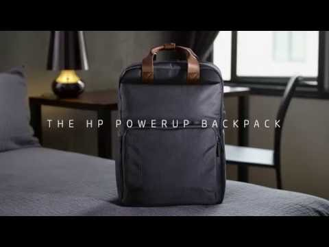 The Powerup Backpack That Can Charge Your Laptop