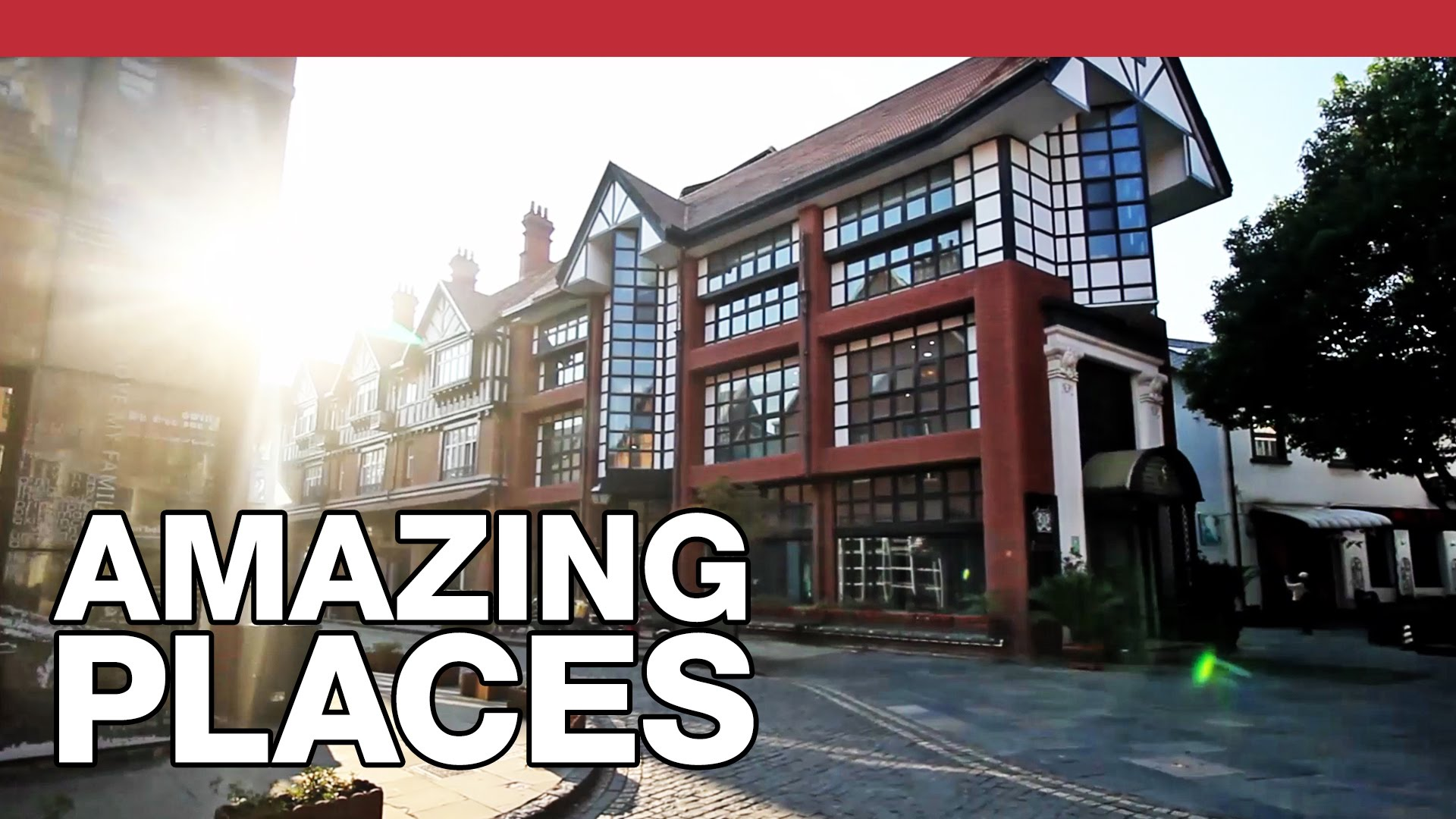 The Fake-British Ghost Town In China: Thames Town