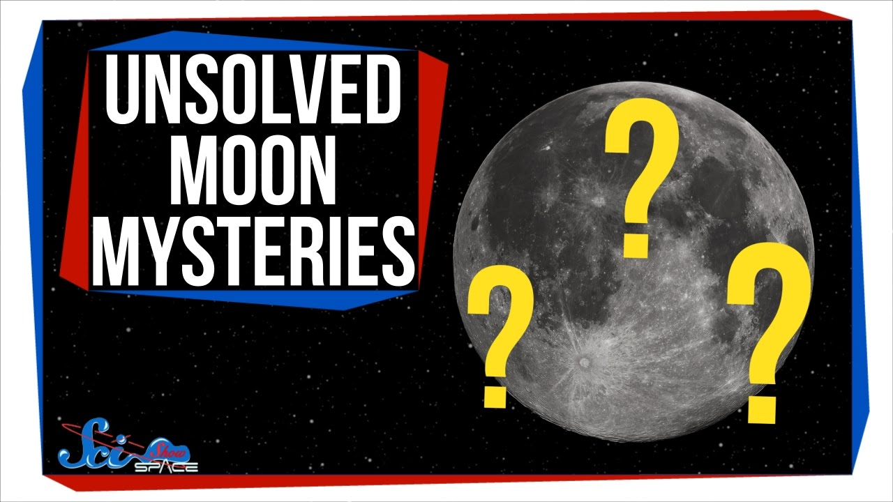 3 Unsolved Moon Mysteries