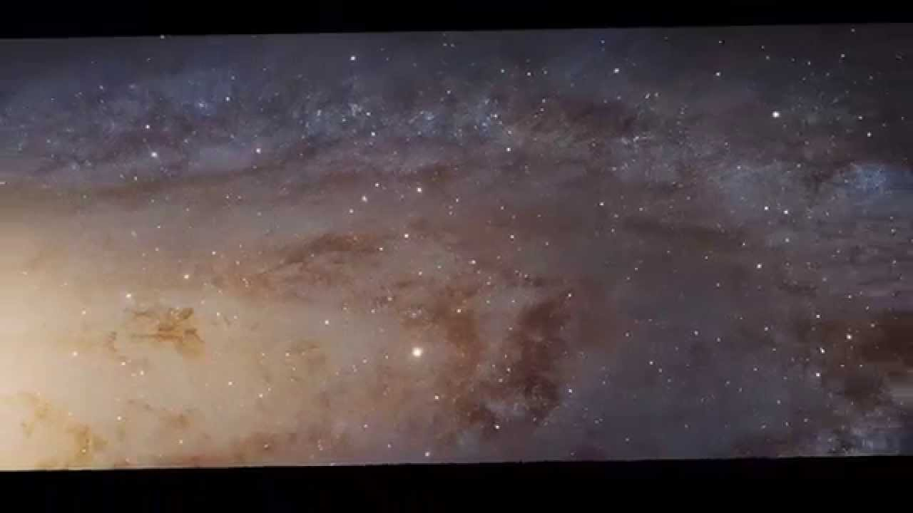A mind blowing perspective on how large Andromeda is...