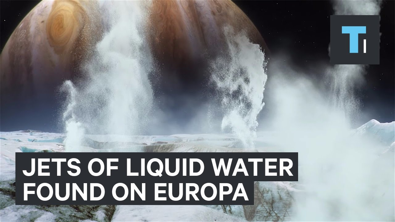 Hubble found jets of liquid water on Europa