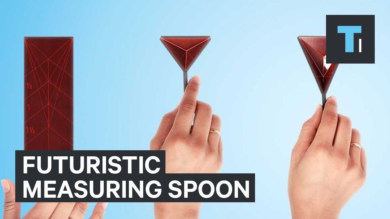 People are going nuts for this futuristic measuring spoon